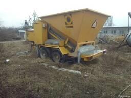 Б/у мобильный бетонный завод 10-15 м3 в час, 2013 г. - фото 2