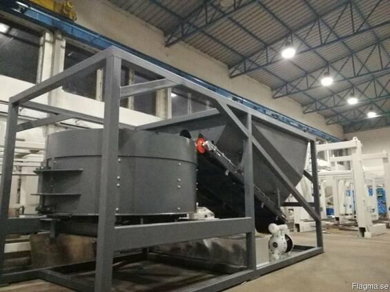 Мобильный асфальтобетонный завод 10-12 м3 в час