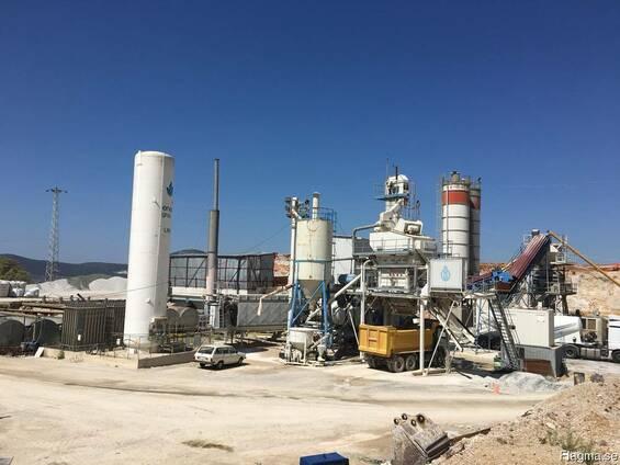 Б/у мобильный асфальтовый завод 160 тонн/час Benninghoven