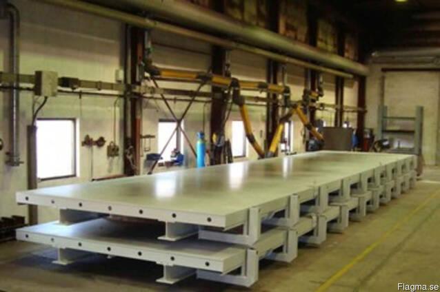 Б/у оборудование для производства панелей