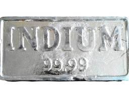 Indium bullion | metallindiummärke InOO GOST 10297-94