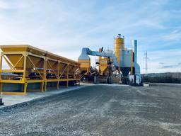 Mobile asphalt plant Parker RoadStar 3000 (240 tph, United Kingdom)