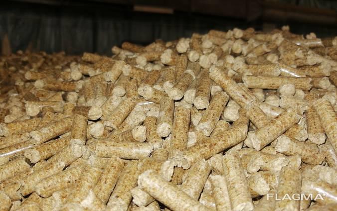 Топливные гранулы, пеллеты 8мм