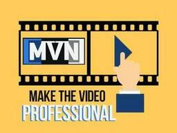 Услуги профессионального видеомонтажа