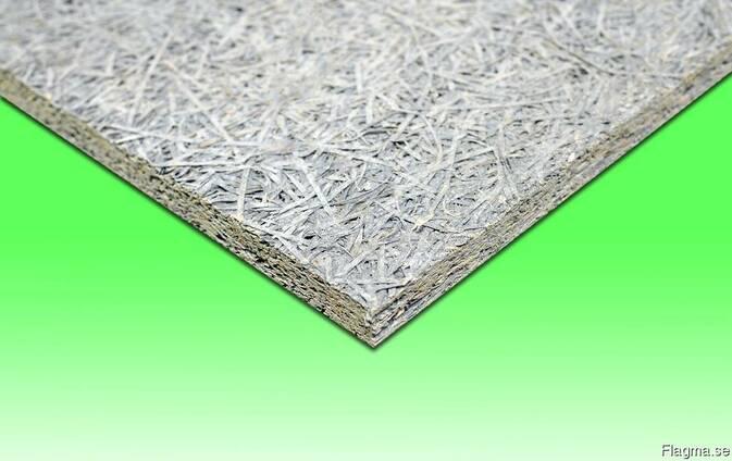 Wood wool cement board / Träullcementplatta